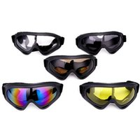 защитные очки очки оптовых-Motorcycle Bicycle sunglasses cycling eyewear goggle wind, sand, dust, anti-, outdoor riding protective equipment