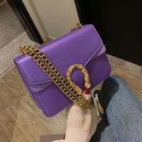 koreanische stofftaschen großhandel-Mode einfarbig pailletten damen umhängetasche pu-leder stoff förderung neue brieftasche koreanische version der kleinen quadratischen beutel handtasche