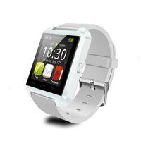 usa electronica al por mayor-Original U8 Smart Watch Bluetooth Reloj electrónico inteligente para Apple IOS Watch Android Teléfono inteligente Reloj PK GT08 DZ09 A1 M26 T8