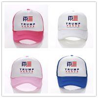 Wholesale punk boy cap for sale - Group buy Donald Trump Ball Caps Fitted Snapback Baseball Hats Hip Hop Punk Snapbacks USA Caps Baseball Cap Letter Print Hats Colors D3402