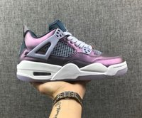 Wholesale best shoes for camping for sale - Group buy 2019 Best NEW IV Chameleon Purple Mesh Breathable Men s Basketball Shoes For High Quality s Designer Sports Sneakers Trainers Size