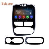 android telefone analógico tv venda por atacado-Android 9.0 HD Touchscreen 10.1 de polegada de navegação GPS estéreo do carro para 2012-2018 Renault Clio Digital / Analógico (MT) com suporte Bluetooth carro dvd