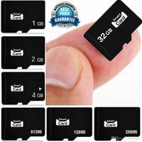 128 mb sd karten großhandel-Spitzenverkauf 128MB-32GB Speicher MICRO SD TF-FLASH-SPEICHERKARTE FÜR Tablet PC-Laptop-Speicherkarten für MP3 MP4