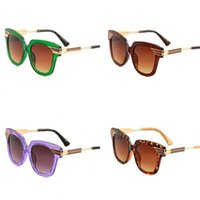 a0b5836b6451 Wholesale leopard print glasses frames for sale - Group buy Leopard Print  Lady Sunglasses Tea Colour