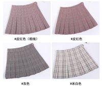 f05974c98b Pleated skirt, female 2019, spring and summer, new Korean version, INS skirt,  female autumn winter.