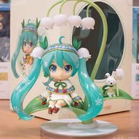 ingrosso giapponese nendoroide-Bambola giapponese anime carina Nendoroid Hatsune Miku # 493 Snow Miku Snow Bell Ver. Action figure in PVC