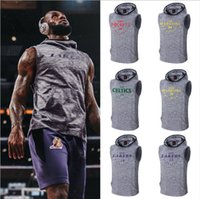 sweat à capuche sans manches beige achat en gros de-Sweat-shirt de basket-ball Sweatshirt d'entraînement 0A