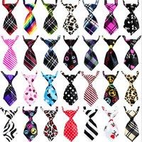 chien de soie achat en gros de-Cravate réglable pour chien Pet Cravate Chat Cravates Belle Adorable Cravate Soie Cravate Pet Cravates 1000pcs