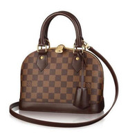 Wholesale body bb for sale - Group buy Alma Bb N41221 New Women Fashion Shows Shoulder Bags Totes Handbags Top Handles Cross Body Messenger Bags