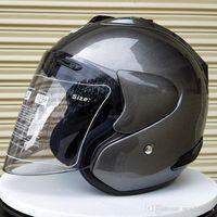 motocicleta casco mujeres al por mayor-Envío gratis ARAI R4 casco de la motocicleta que compite con cuatro temporadas pase casco carreras de hombres y mujeres medio casco