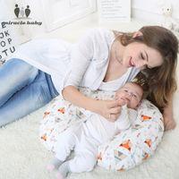 подушки для поясницы оптовых-Baby Nursing Pillows Maternity Breastfeeding Pillow Infant Newborn U-Shaped Cotton Pillow Protect Mummy Waist Support Cushion 37