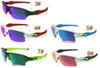 spor gözlüğü için camlar toptan satış-Yaz new man moda güneş gözlüğü spor gözlükler Ayna lens kadın gözlük adam Bisiklet Spor Açık Güneş Gözlükleri iyi ücretsiz kargo