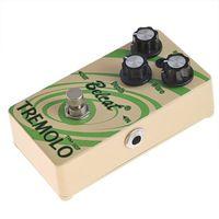 mini efektler pedalları toptan satış-Belcat Mini Gitar Efekt Pedal Supper TRM-507 Tremolo Pedal-MÜZİK