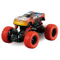 spaß jungen spielzeug großhandel-Sehr cool und Spaß Kinder ziehen SUV Auto Fahrzeug Auto Modell zurückziehen Spielzeug Auto Jungen Geschenk