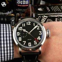 47 mm saatler toptan satış-Lüks erkek saatler otomatik izle ünlü marka moda 47mm yüz su geçirmez mekanik İzle yüksek kalite Zenth