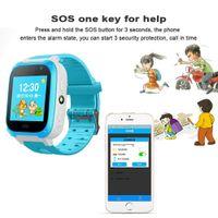akıllı dokunmatik ledli saat toptan satış-Akıllı İzle Çocuklar Dokunmatik LED Ekran Kamera Konumlandırma Saat Çocuk Saatleri SOS Çağrı Konumu Anti-Kayıp Hatırlatma Izle