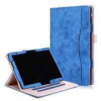 Wholesale fabric tablet case for sale - Group buy Luxury Fabric PU Leather Case Auto Sleep Wake UP Smart Cover for Huawei MediaPad M5 Lite Model BAH2 W19 BAH2 L09 Tablet