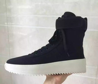 Wholesale ladies basketball boots for sale - Group buy 2019 men s brand name boots ladies bottines fashion luxury Fear of God fog running basketball shoes winter rain snow women s sports shoes