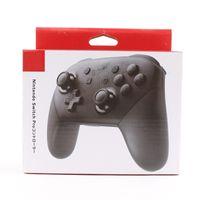 consola de jogos bluetooth venda por atacado-Jogo joystick Controlador Sem Fio Gamepad Para Interruptor Pro Console Controladores de Jogo Bluetooth Com Logotipo DHL Frete Grátis