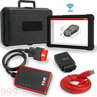 Wholesale wifi obd2 connector resale online - Car Full System Automotive Service Tool UCANDAS VDM WiFi OBD2 Diagnostic Scanner
