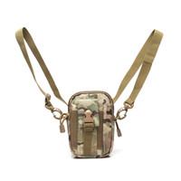 lona militar ombro sacos venda por atacado-Multi-função Tactical Militar Ao Ar Livre sacos de Ombro Cinto Saco de Bolsa Carteira Bolsa Bolsa de Telefone Esportes para o iPhone Samsung LG