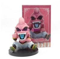 modelo majin buu al por mayor-Hot Anime Evil Majin Buu majin Boo GK Estatua dragonball Figura de Acción Colección Modelo de Juguete para Niños Accesorios para Teléfono
