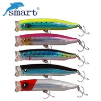 Wholesale big top water lures for sale - Group buy Smart Big Fishing Lure mm g Top Water Bait Wobbler Treble Hooks Artificial Hard Baits Sea Fishing Acessorios