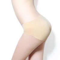 Wholesale waist hip up underwear resale online - Latex waist trainer butt lifter panties Women Underwear Slimming body underpants Fake butt Up Hips enhancer C6394