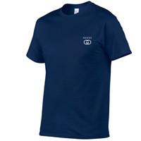 hommes rouges t shirts achat en gros de-Mens Designer T Shirts Noir Blanc Rouge Mens Marque De Luxe Designer T Shirts Haut À Manches Courtes S-XXL