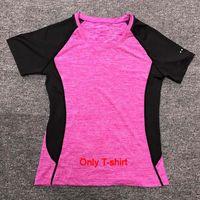 Wholesale women yoga pants resale online - 2019 Yoga Sets sports wear for women gym TShirt Pants Breathable Gym Workout Clothes Compressed Yoga Leggings Sport Suit