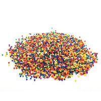 büyüyen boncuklar toptan satış-10,000 Adet / takım Su Boncuk Spa Dolum Sihirli Büyüyen Jöle Boncuk Duyu Oyuncaklar ve Dekor için, renk Mix