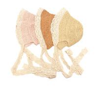 chapéus de palha planície flexível do verão venda por atacado-Verão criança pescador chapéu menina guarda-sol protetor solar praia chapéu