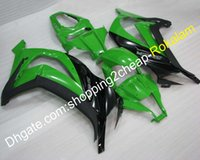 Wholesale kawasaki motorcycles plastic for sale - Group buy Motorcycle Fairing For Kawasaki Ninja ZX R ZX10R ZX R ZX R Green Black ABS Fairings Injection molding