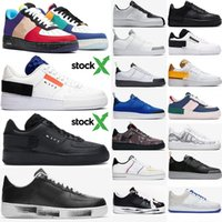 baixa plataforma sapatos mulher venda por atacado-N354 com estoque X 2020 Mens Mulheres Casual Luxury Shoes Triplo Preto 1 Uma alta Dunk Low Platform Sb inferior Designer Sneakers Chaussures