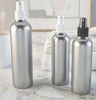 botellas de spray cosméticas vacías al por mayor-Spray Perfume Botella de Viaje Recargable Vacío Contenedor Cosmético Botella de Perfume Atomizador Botellas de Aluminio Portátil Botellas de Maquillaje GGA1921