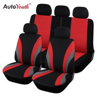 Wholesale red color seat covers for sale - Group buy AUTOYOUTH Classic Car Seat Covers Universal Fit Most SUV Truck Cars Covers Car Seat Protector Styling Color Cover