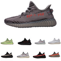 best authentic d8018 2c57f Adidas Supreme Yeezy Boost SPLY 350 V2 calidad mejores ofertasa V2 hombres  estáticos mantequilla sésamo gris damas diseñador zapatos