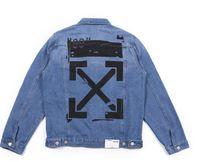 xxl jeans para mulheres venda por atacado-Tendência de jaqueta jeans homens marca manga longa mulheres homens jaqueta jeans tamanho M-XXL