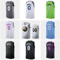 Wholesale garnett jerseys for sale - Group buy 2020 Men Minnesota Timberwolves Russell Garnett Blue White gray black Swingman Jersey and pant