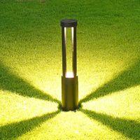 Garden Lawn Light 10W COB Parking bollards LED Garden Light AC85-265V Aluminum Waterproof LED Landscape Lamp