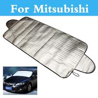 Wholesale mitsubishi asx car resale online - Car Cover Car Windshield Sunshade Visor For Mitsubishi Carisma Challenger Colt Eclipse Ek Endeavor Airtrek Asx Attrage