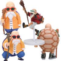 dragon ball z master roshi venda por atacado-Presentes Dragon Ball Figura Mestre Roshi Action Figure Dragon Ball Z Goku Scultures Coliseu Brinquedos Modelo Boneca Coleção MX191105