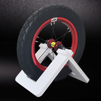 suporte de bicicleta portátil venda por atacado-Suporte de roda de armazenamento de rack de estacionamento de bicicleta suporte de bicicleta portátil titular # 279589