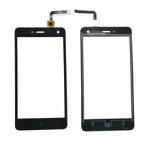 dokunmatik cam toptan satış-ZTE Blade L3 Kapasitif Dokunmatik ekran Digitizer ön cam değiştirme Dokunmatik Siyah renk