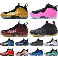 Wholesale foams penny shoes resale online - 2019 New Alternate Galaxy Olympic Penny Hardaway OG Royal Pealized Pink Mens Basketball Shoes foams one men sports sneakers designer