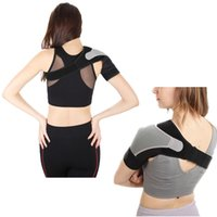 ingrosso imbottitura cinghia-Spalla FIRECLUB Fitness Sport regolabili Badminton spalline Sport Stretch Tracolla Strong Muscle Chest Harness
