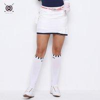 saias grandes venda por atacado-2019 mulheres saia de golfe branco da marinha inteligente esporte saia nova chegada menina vestuário verão shorts dentro magro grande skort senhora roupas