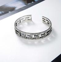 bracelets de petit ami achat en gros de-Top designer de bijoux hommes CC bracelet designer lettre G bracelet accessoire de mode de luxe pour cadeau petit ami