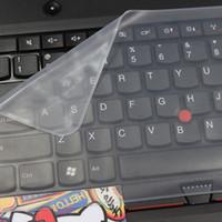 17 housse d'ordinateur portable étanche achat en gros de-Clavier pour ordinateur portable Film de protection Étanche pour clavier d'ordinateur portable Couverture 14 15 17 pouces Couverture pour ordinateur portable Film anti-poussière Silicone