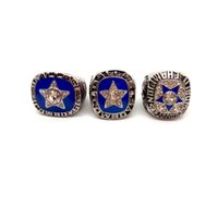meisterschaft ring dallas großhandel-New Fashion Herrenring 1975/1970/1971 Dallas Cowboy Championship-Ring